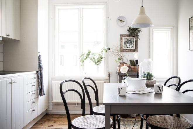 casa lámpara tela blanca 56