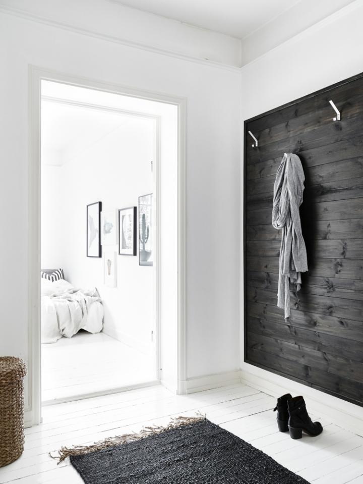 Monoambiente blanco y negro 10