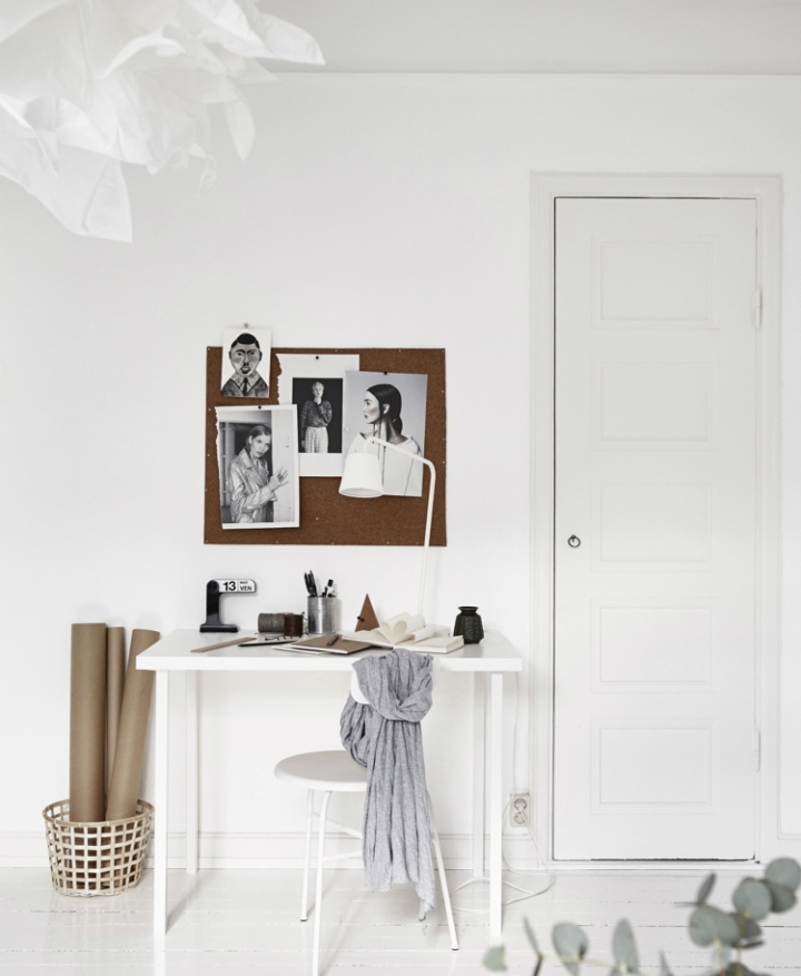 Monoambiente blanco y negro 6