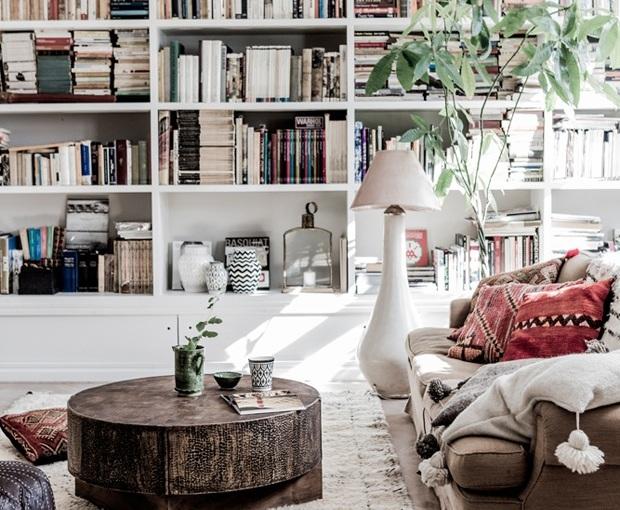 Una casa estilo marroquí y airesbohemios
