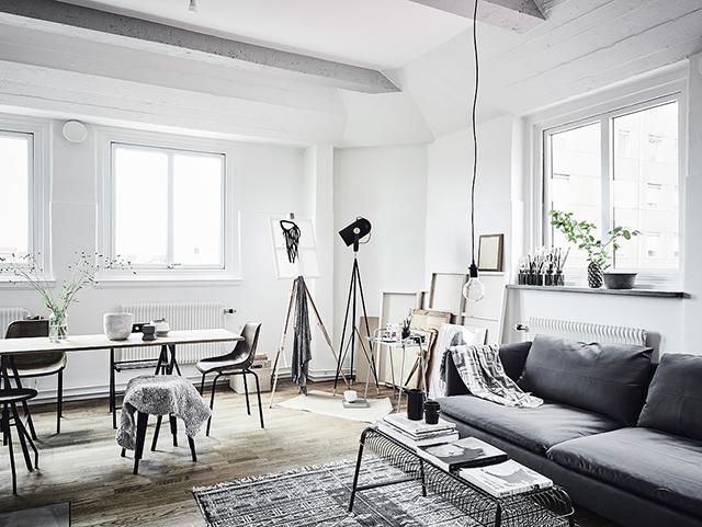casa estudio en gris 2