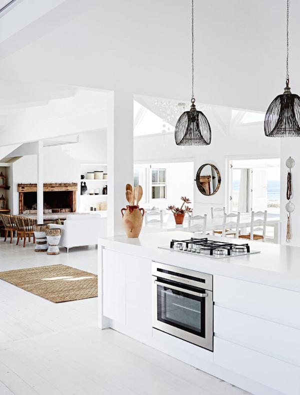 Casa de playa blanca enSudáfrica
