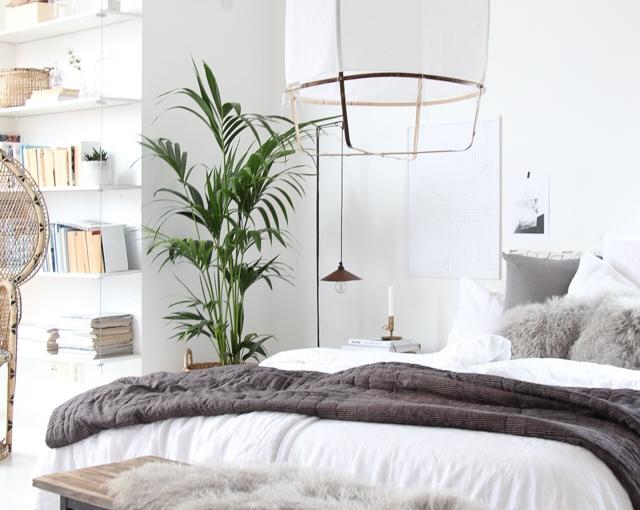Dormitorio que inspira.