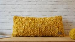 almohadon teido Girona mostaza (1)
