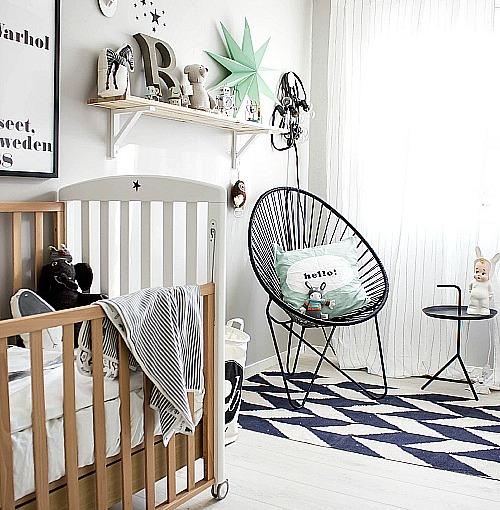 El cuarto de bebé más lindo dePinterest.